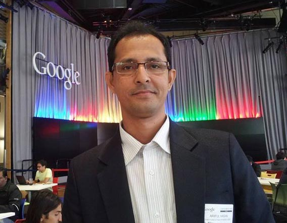 e-Soft CEO Visited Google and Intel Head Quarter