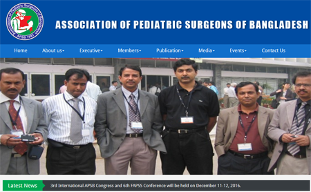 Association of padiatric Surgeons of Bangladesh