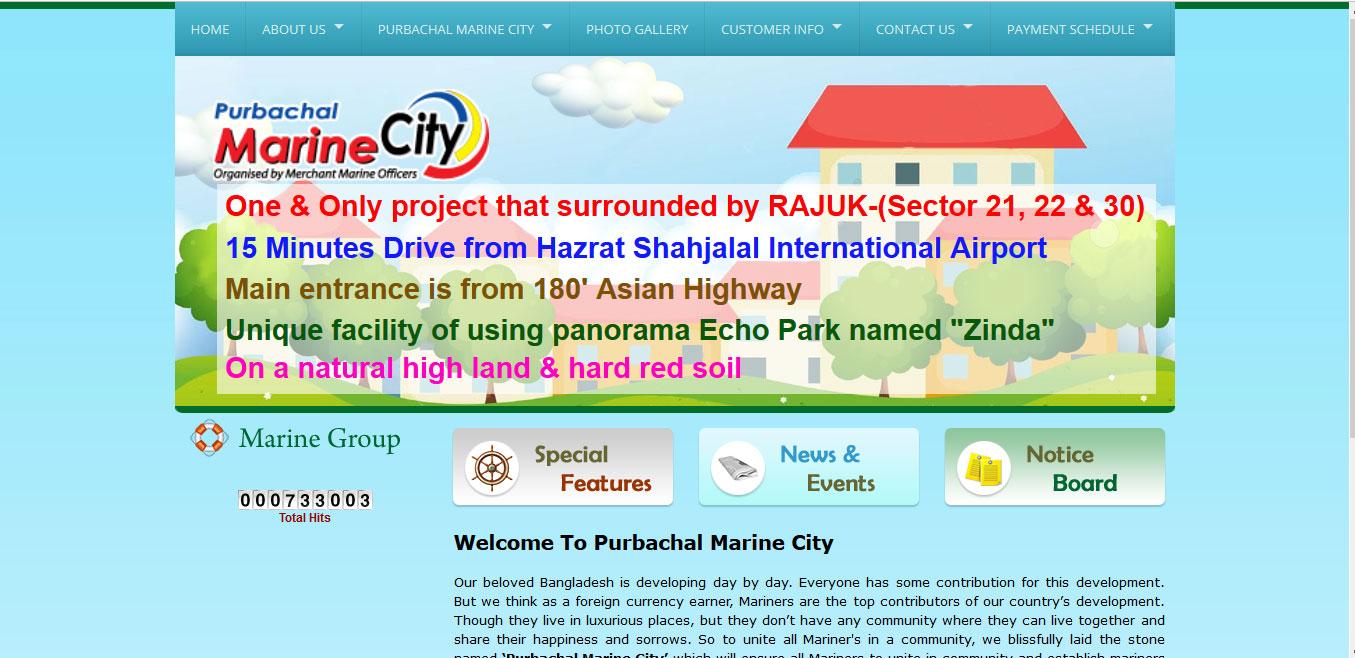 Purbachal Marine City