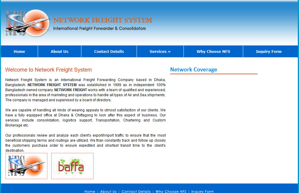 Network Freight System