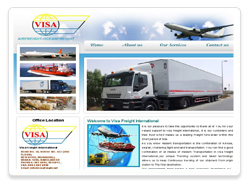 Visa freight international